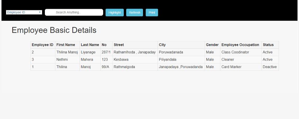 Slider Image 7 | MYSQL Report Generator | Ceylon Creations Company
