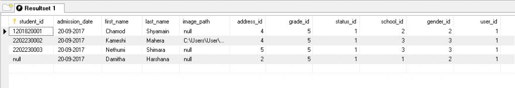 Table-print | MYSQL Report Generator | Ceylon Creations Company