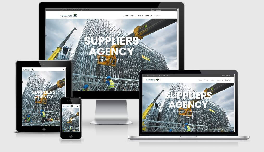 Suppliers Database Responsive